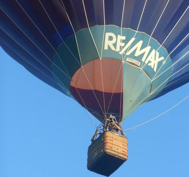 Remax Luchtballon vlakbij Drachten
