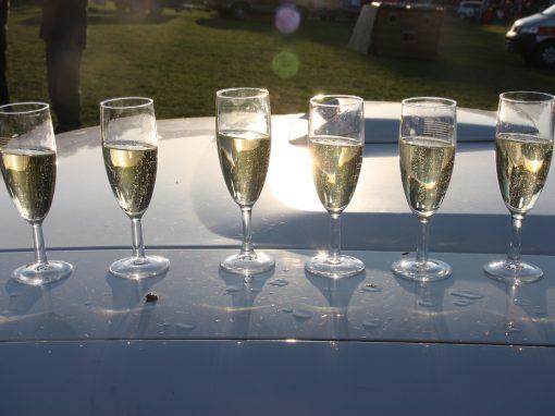 En dan… champagne