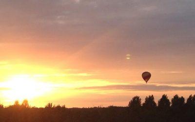 Zomeravond ballonvaart van Joure naar Ureterp