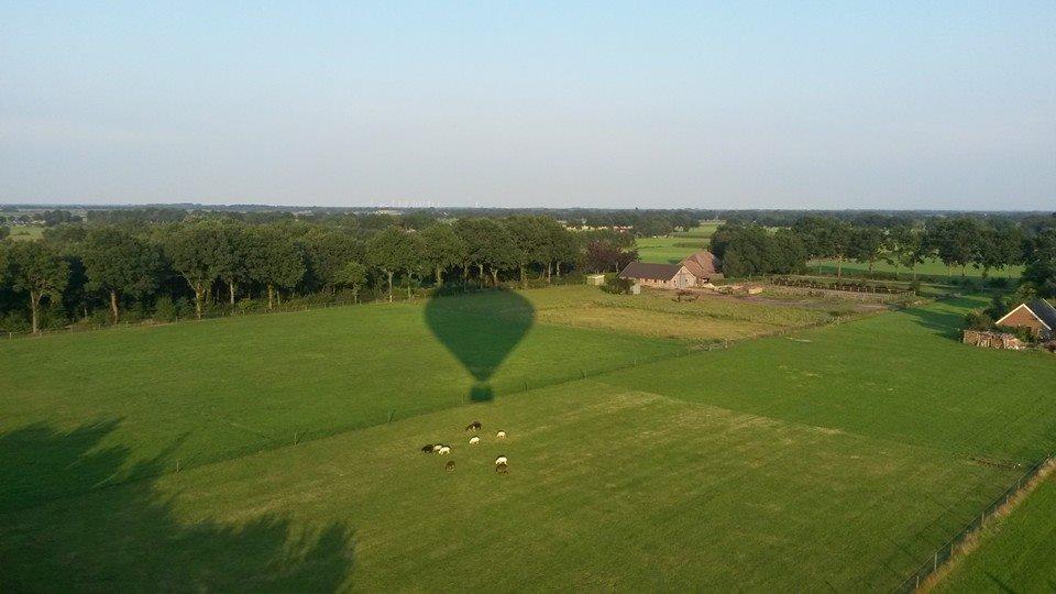 Ballonvaren regio Ommen/Slagharen