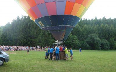 Ballonvaren Ardennen Parc La Clusure 2015