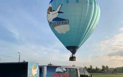 De Hoogvliegers hete luchtballon